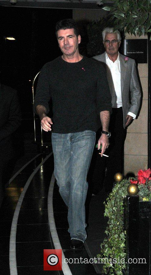 Simon Cowell and Dorchester Hotel 6