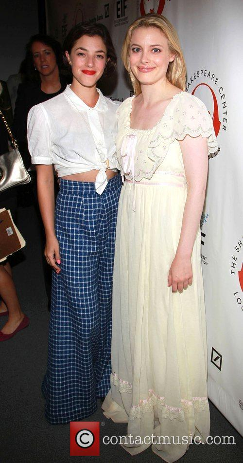 Gillian Jacobsand and Olivia Thirlby  The Shakespeare...