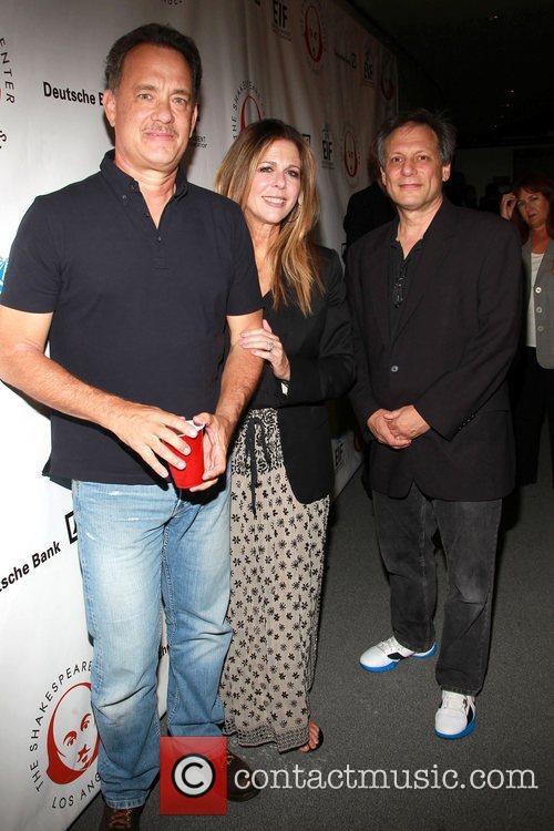 Tom Hank, Rita Wilson and Ben Donenberg 2
