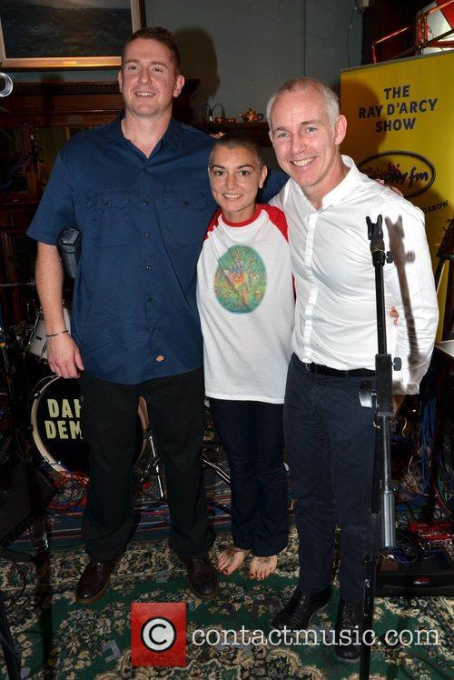 Damien Dempsey, Sinead O'connor and Ray Darcy 4