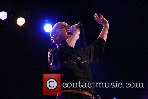 Sinead O'Connor  performs at Le Trianon Theatre...