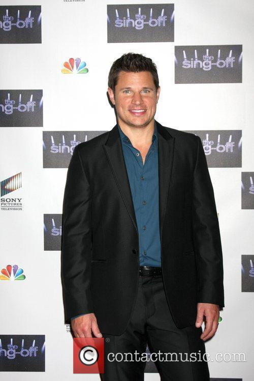 Nick Lachey NBC's The Sing Off Live Finale...