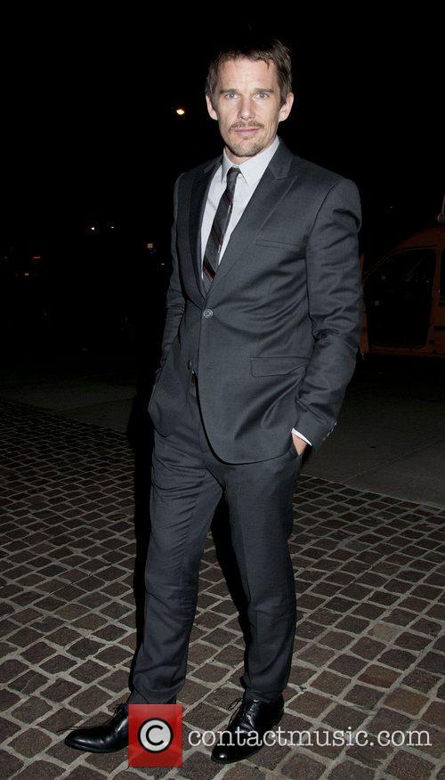 Ethan Hawke for the NYC screening of 'Sinister'...