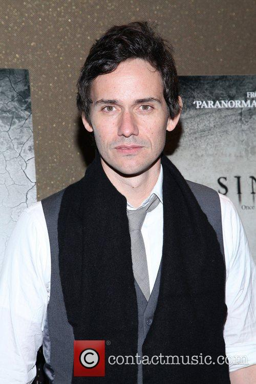 Christian Camargo for the NYC screening of 'Sinister'...