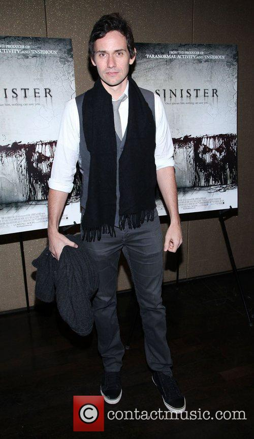 For the NYC screening of 'Sinister' at the...