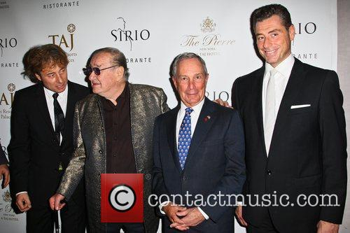 Sirio Maccioni, Mayor Michael Bloomberg and Guests 7