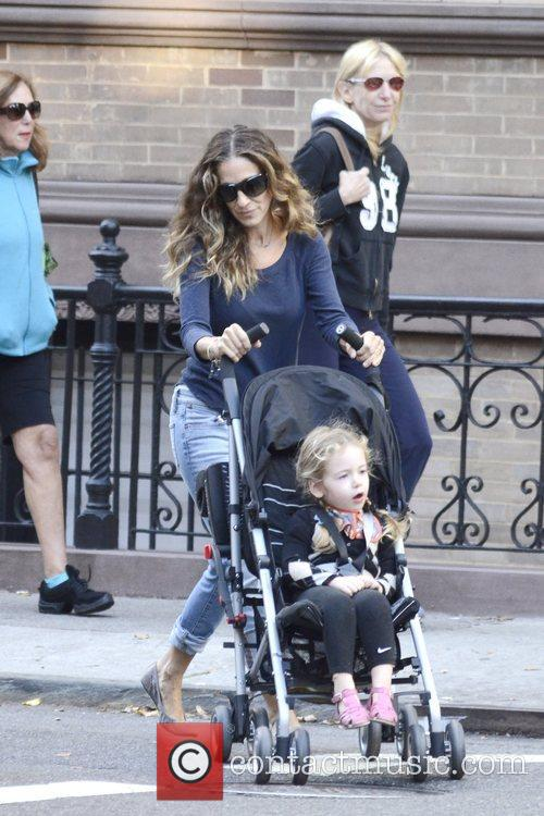 Sarah Jessica Parker, Marion Loretta Elwell, Tabitha Hodge and West Village 11