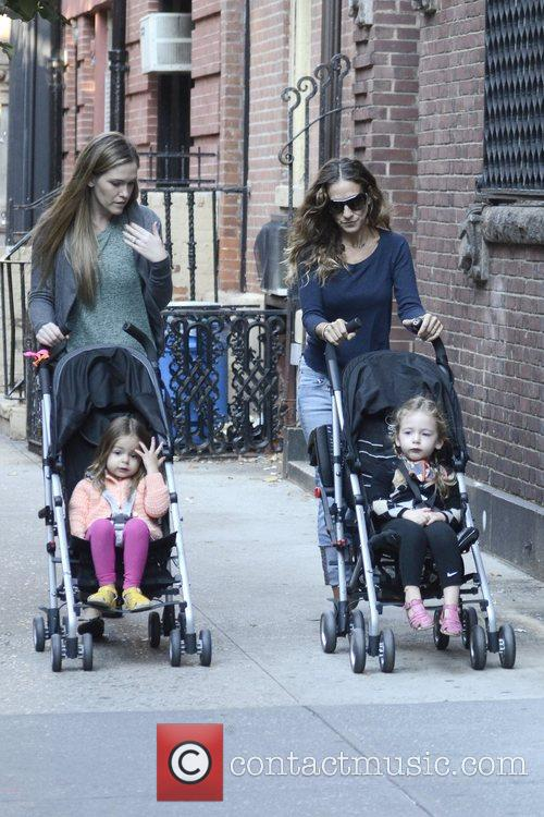 Sarah Jessica Parker, Marion Loretta Elwell, Tabitha Hodge and West Village 8