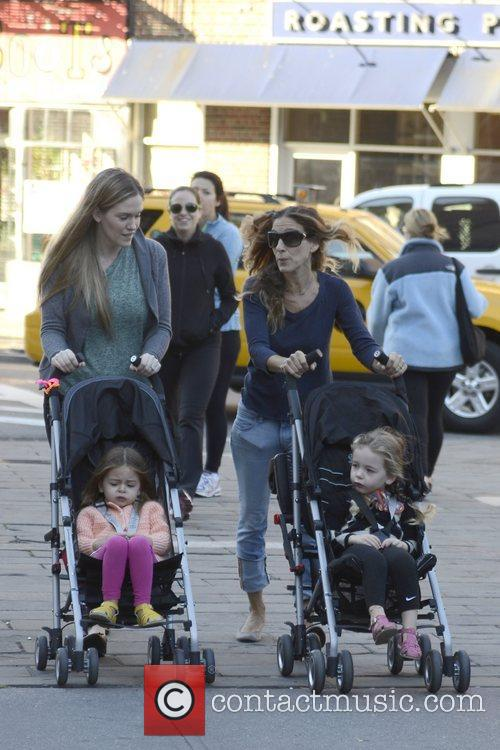 Sarah Jessica Parker, Marion Loretta Elwell, Tabitha Hodge and West Village 1