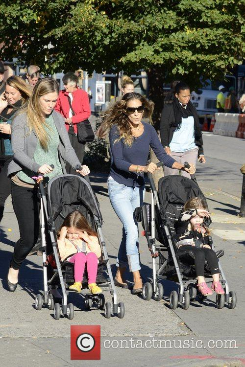 Sarah Jessica Parker, Marion Loretta Elwell, Tabitha Hodge and West Village 9