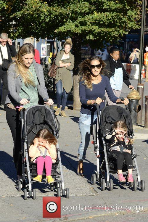 Sarah Jessica Parker, Marion Loretta Elwell, Tabitha Hodge and West Village 3