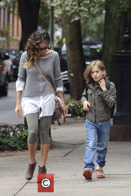 Sarah Jessica Parker, James Wilkie, West Village New York and City 2