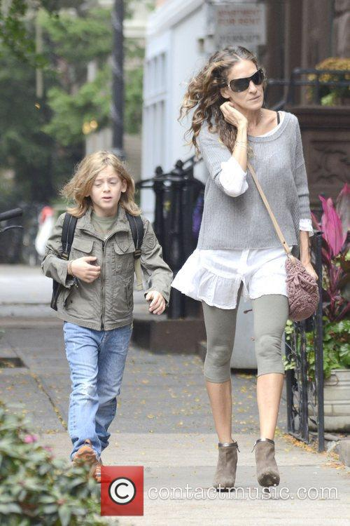 Sarah Jessica Parker, James Wilkie, West Village New York and City 10
