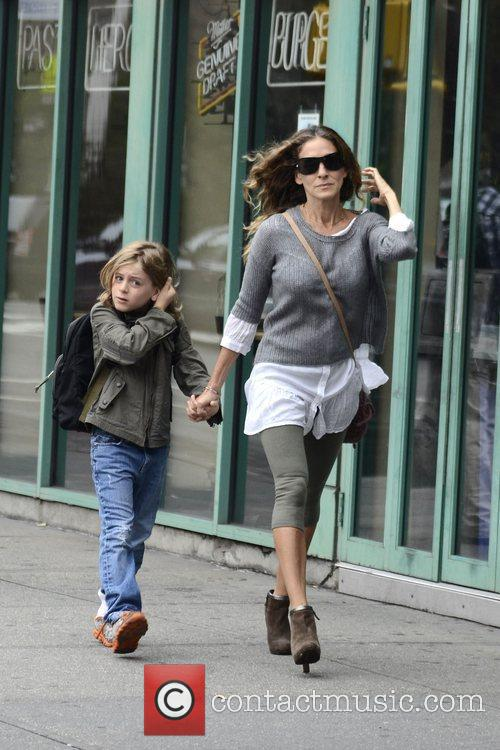 Sarah Jessica Parker, James Wilkie, West Village New York and City 8