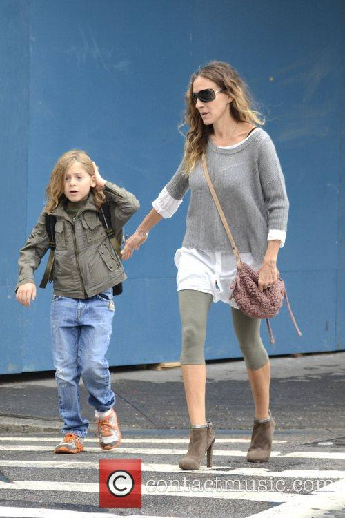 Sarah Jessica Parker, James Wilkie, West Village New York and City 11