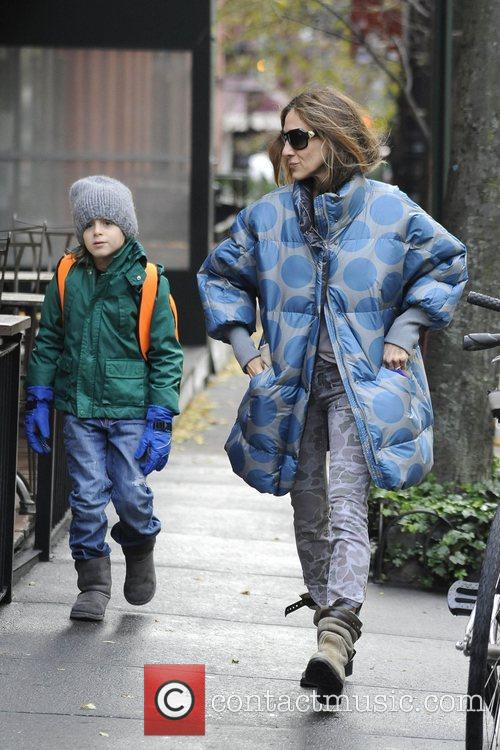 Sarah Jessica Parker, James Wilkie and West Village 1