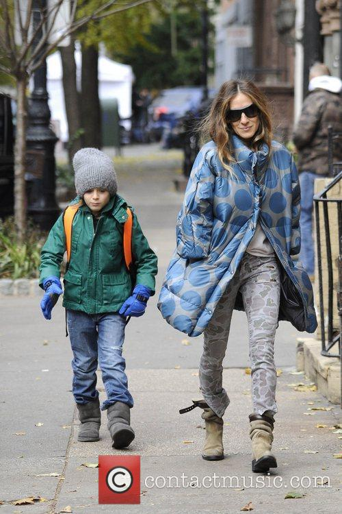 Sarah Jessica Parker, James Wilkie and West Village 10