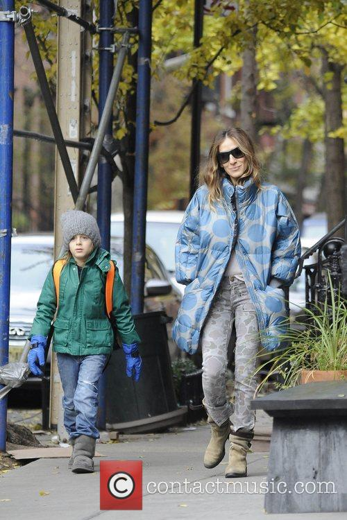 Sarah Jessica Parker, James Wilkie and West Village 9