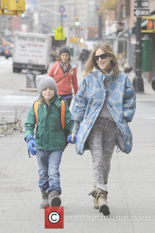 Sarah Jessica Parker, James Wilkie and West Village 7