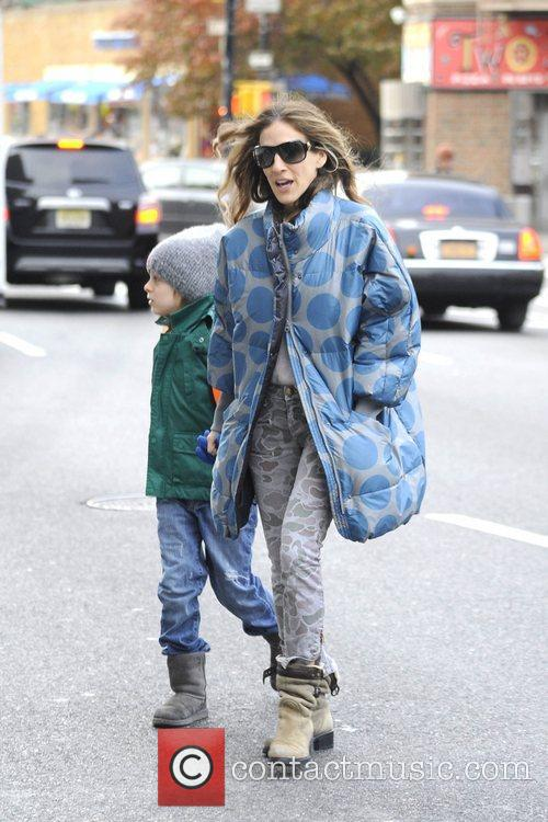 Sarah Jessica Parker, James Wilkie and West Village 4