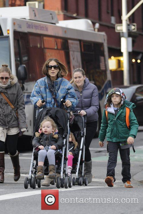 Sarah Jessica Parker, James Wilkie, Tabitha, Marion and Manhattan 7