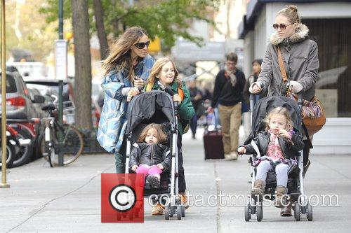 Sarah Jessica Parker, James Wilkie, Tabitha, Marion and Manhattan 6