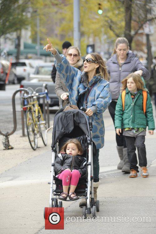 Sarah Jessica Parker, James Wilkie, Tabitha, Marion and Manhattan 4