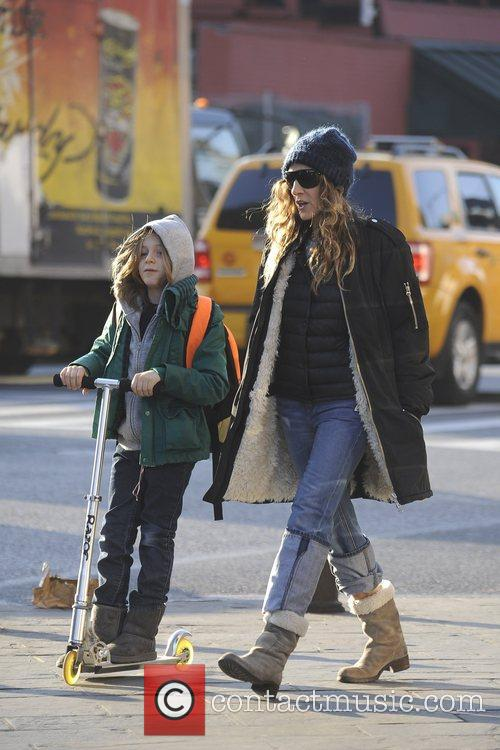 Sarah Jessica Parker, James Wilkie and Manhattan 3