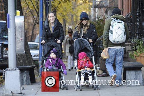 Sarah Jessica Parker, Tabitha, Marion and Manhattan 5