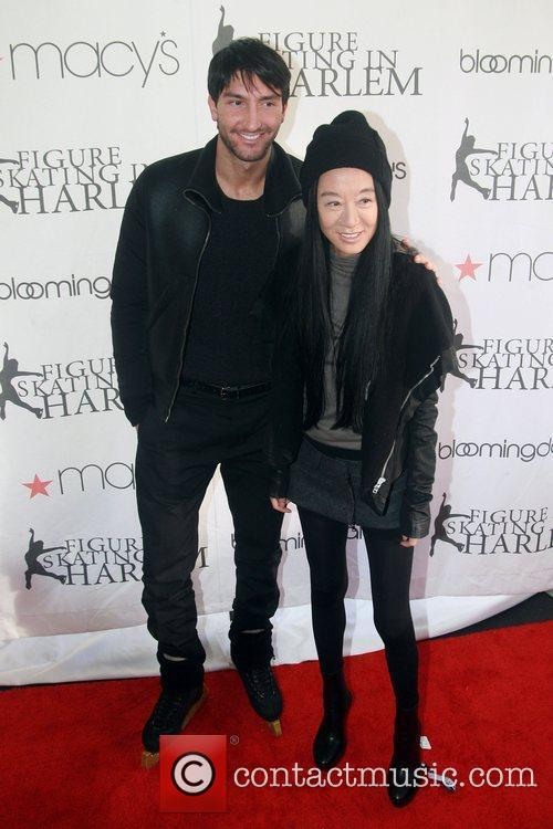 Picture - Evan Lysacek  Vera Wang and Central Park   Monday 2nd April    Vera Wang Evan Lysacek