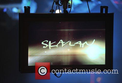 Atmosphere Scandinavian primetime talkshow 'Skavlan' filmed at the...