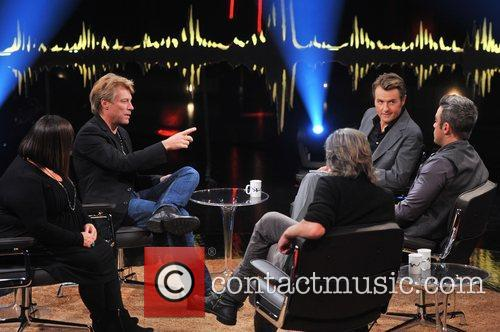 Dawn French, Jon Bon Jovi, Fredrik Skavlan and Robbie Williams 5