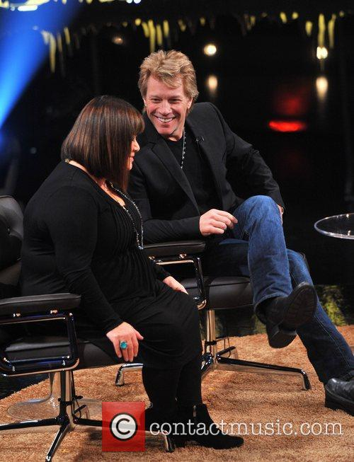 Dawn French and Jon Bon Jovi 2