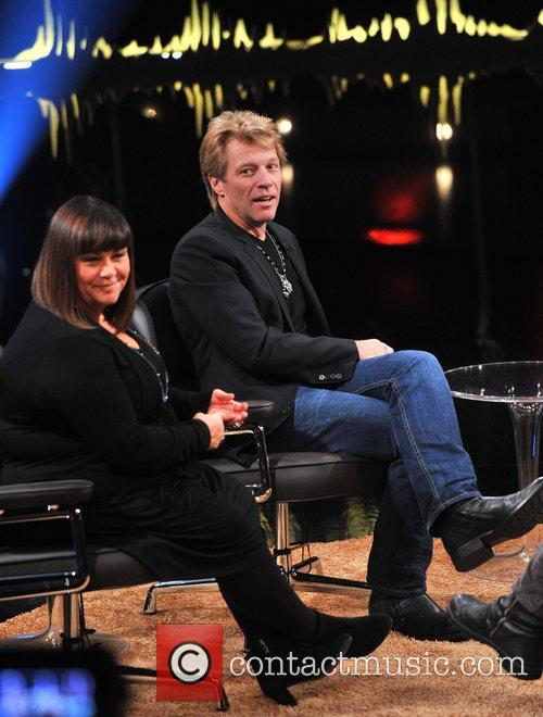 Dawn French and Jon Bon Jovi 1