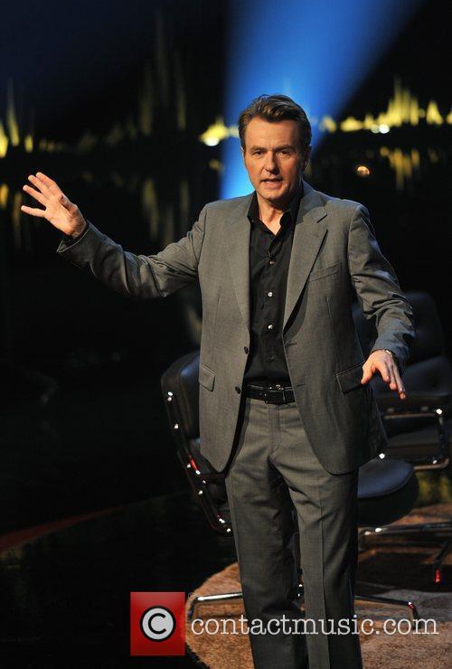 Scandinavian primetime talkshow 'Skavlan' filmed at the BBC...