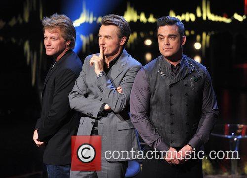 Jon Bon Jovi, Fredrik Skavlan, Robbie Williams