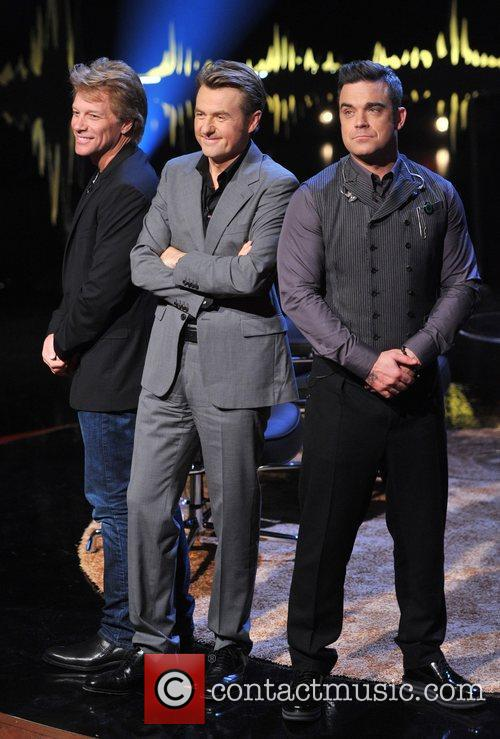 Jon Bon Jovi, Fredrik Skavlan and Robbie Williams 10