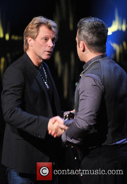 Jon Bon Jovi and Robbie Williams 6