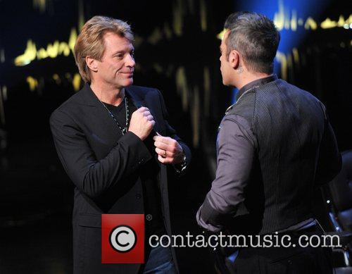 Jon Bon Jovi and Robbie Williams 1