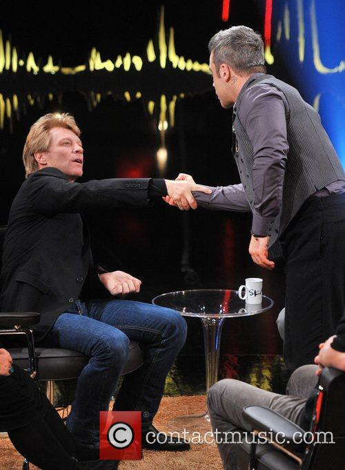 Jon Bon Jovi and Robbie Williams 5
