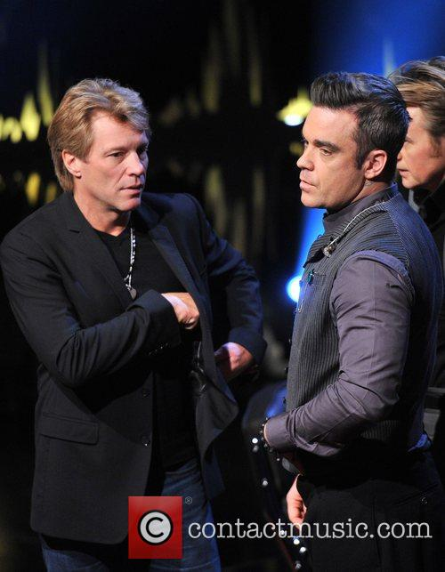 Jon Bon Jovi and Robbie Williams 7