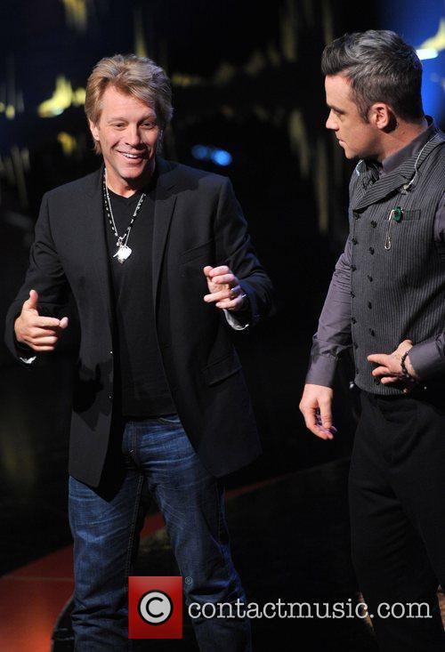 Jon Bon Jovi and Robbie Williams 9