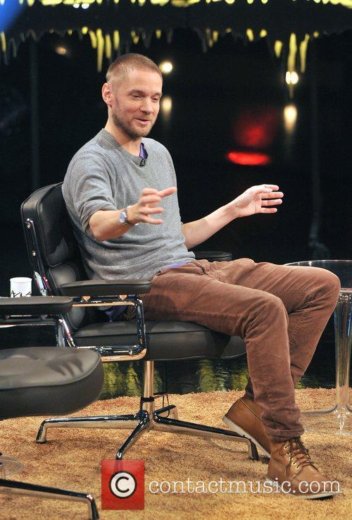 Martin Kellerman Scandinavian prime-time TV show 'Skavlan' filmed...