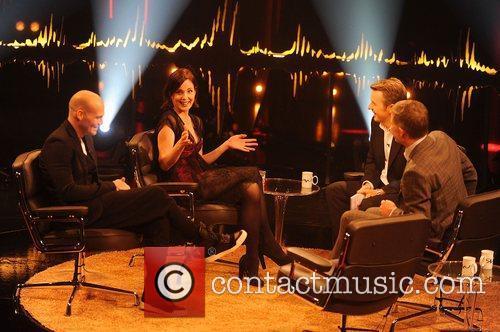 Freddie Ljungberg, Elizabeth Mcgovern and Fredrik Skavlan 8