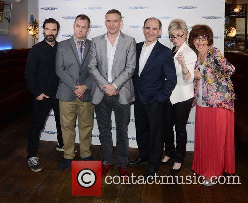 Jack Dee, Armando Iannucci and Steve Coogan 2