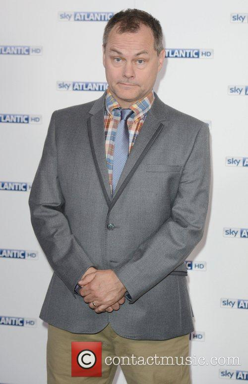 Jack Dee  at the Sky Atlantic launch...