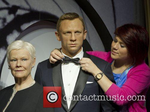 James Bond, M and Madame Tussauds 4