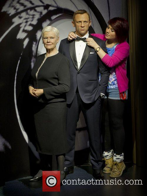 James Bond, M and Madame Tussauds 5