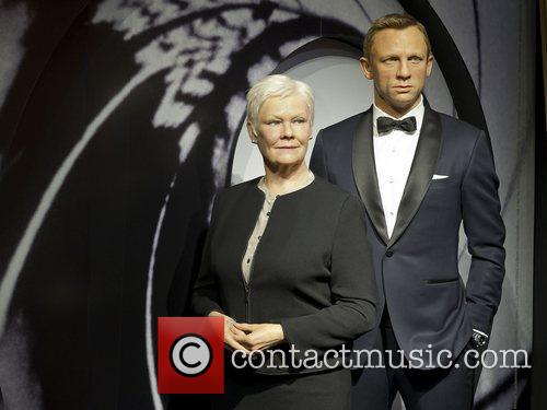 James Bond, M and Madame Tussauds 2