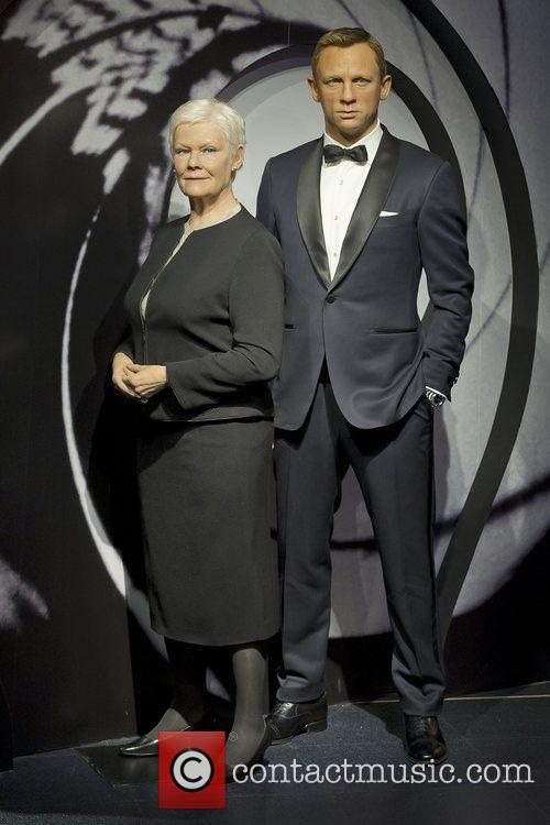 James Bond, M and Madame Tussauds 3